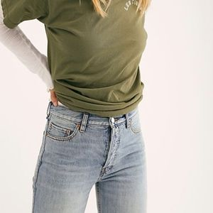 Free People High-Waist Boyfriend Jeans, NWT